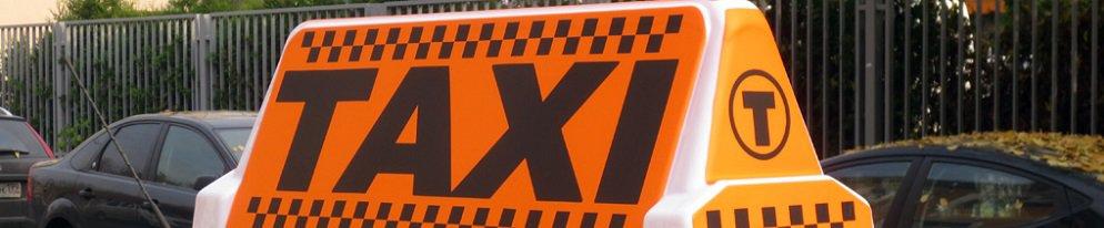 Недорогое изготовление светового короба для такси от производителя